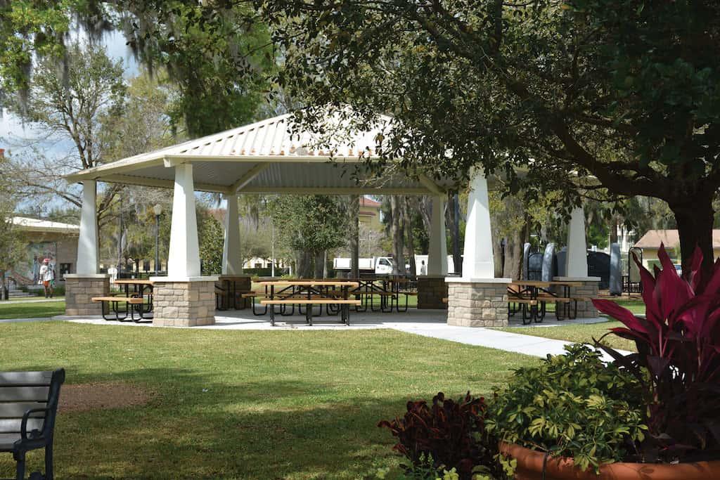 Dawkins Pavilion City Of Winter Park