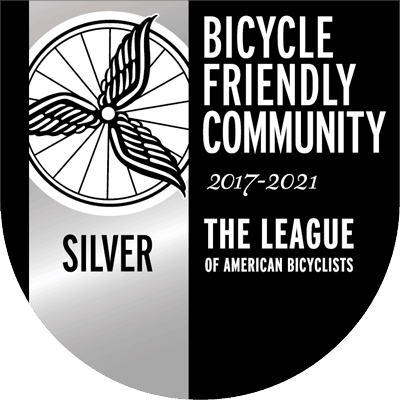 Bicycle Friendly Community 2017-2021 Silver