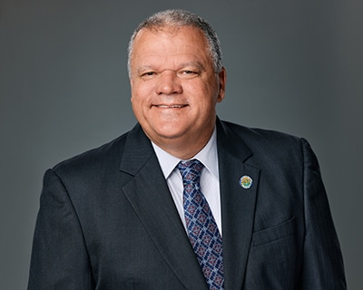 City Manager Randy Knight portrait
